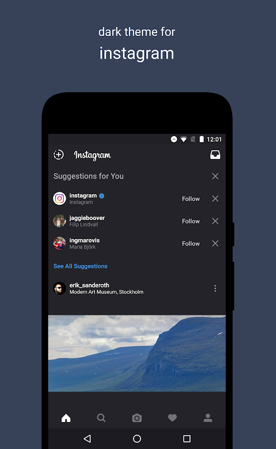 A Swift Dark Substratum Theme Screenshot 4