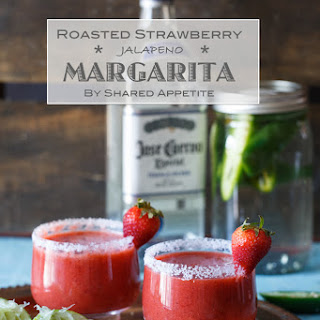 Roasted Strawberry Jalapeno Margarita