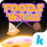 Foods Wars Emoji Kika Keyboard 3.0 Apk