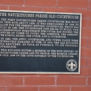 The first Natchitoches Parish Courthouse was built on this site about 1828. It was demolished in 1895 to allow for the present historic courthouse, which was built in 1896. The courthouse cost ...