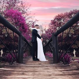 Fairytale by Pierre Vee - Wedding Bride & Groom