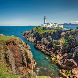Fanad Head by Jim Hamel - Landscapes Travel ( ireland, lighthouse, fanad head, coast, donegal )
