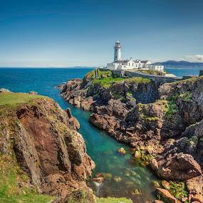 Fanad Head by Jim Hamel - Landscapes Travel ( ireland, lighthouse, fanad head, coast, donegal )