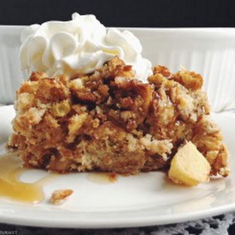 Apple Raisin Bread Pudding