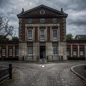 Islington by Petko Slavov - Buildings & Architecture Public & Historical ( colour, old, uk, building, london, hdr, exterior, dark, islington, cloudy. )