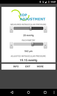 IOP - INTRAOCULAR PRESSURE - screenshot