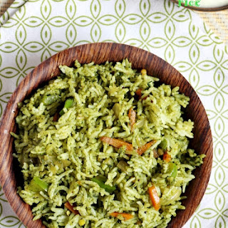 cilantro rice recipe | Coriander rice