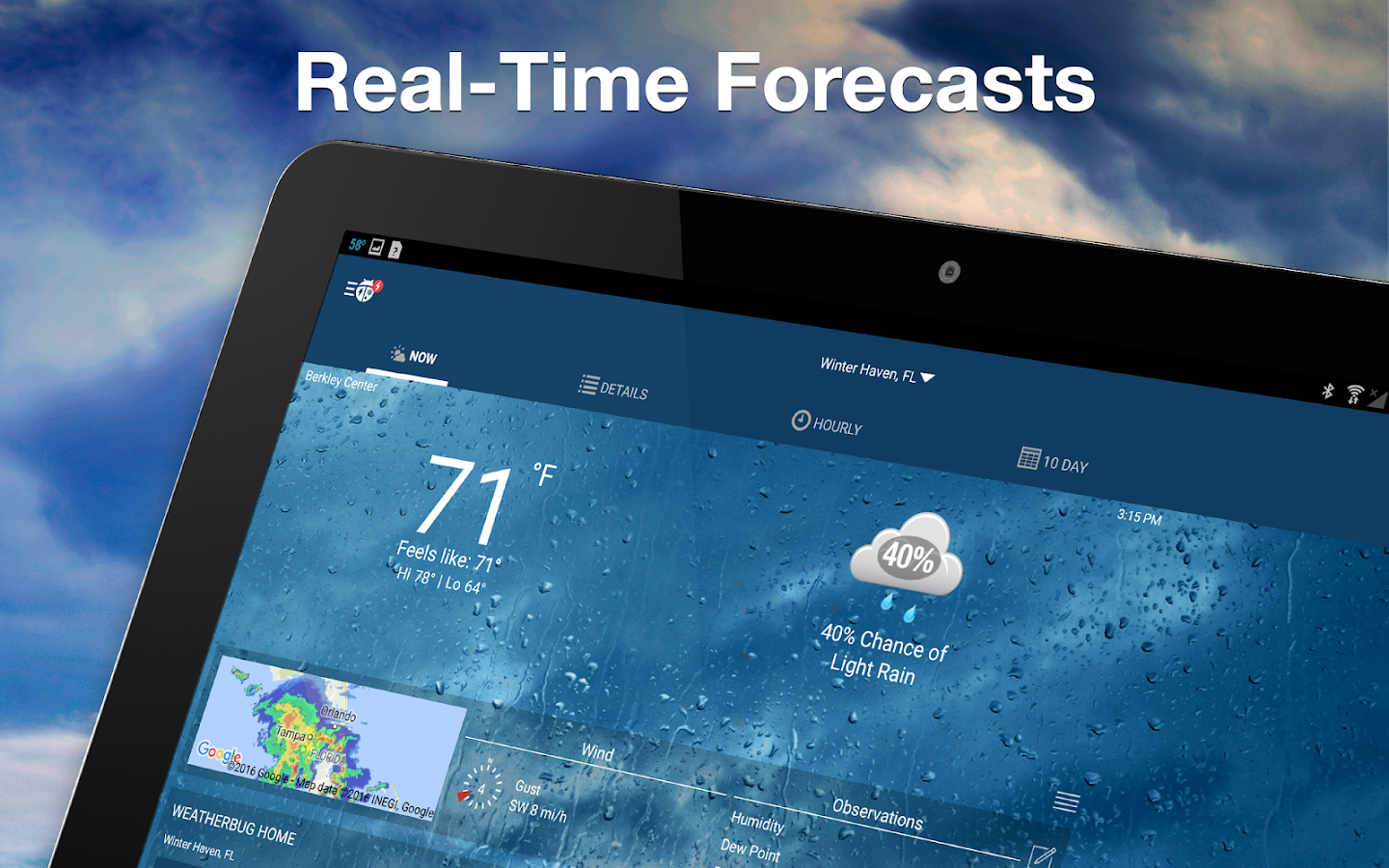 Weather by WeatherBug Screenshot 8