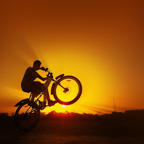The Last take off by Oms Datum Photography - Transportation Bicycles