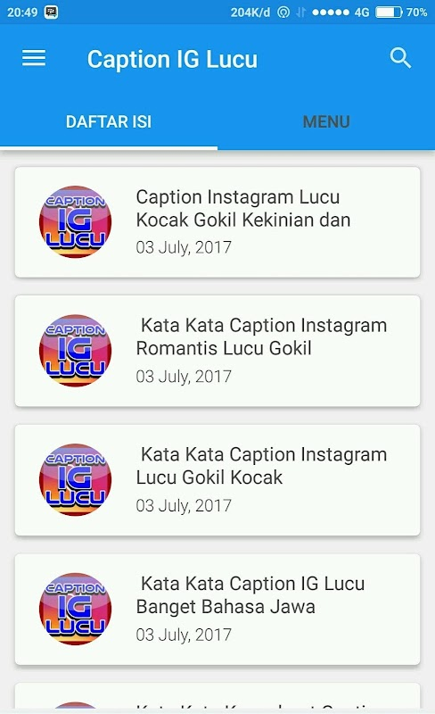 Caption I G Lucu Kekinian Apk 2 4 0 Download Free Books