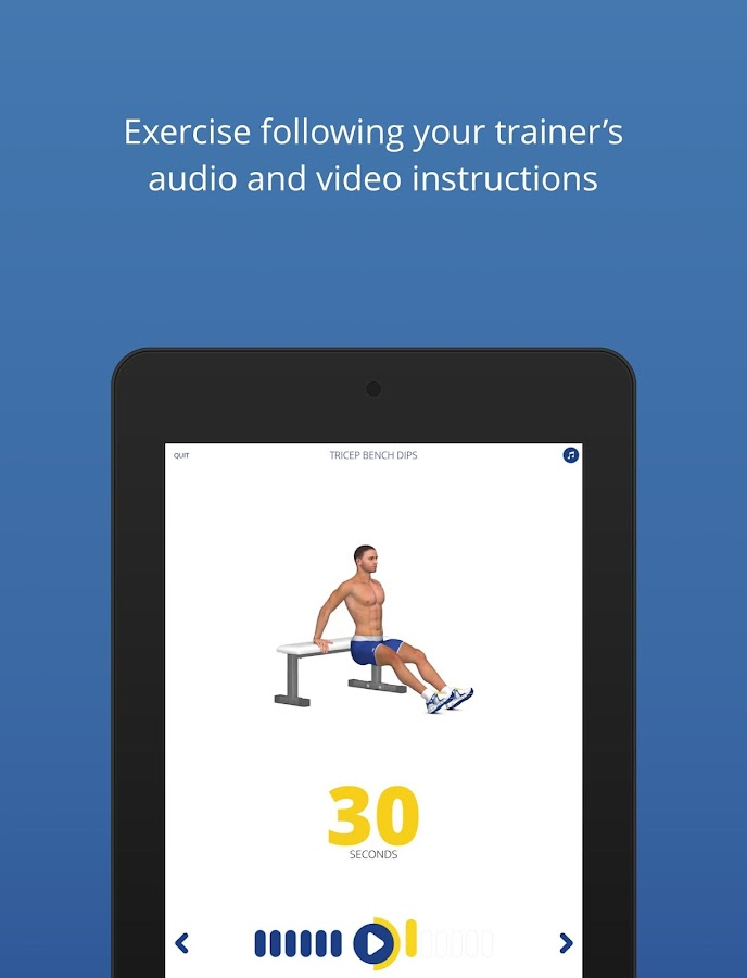 P4P 7 Minute Workout PRO Screenshot 17