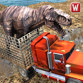 Free Angry Dino Offroad Transporter APK for Windows 8
