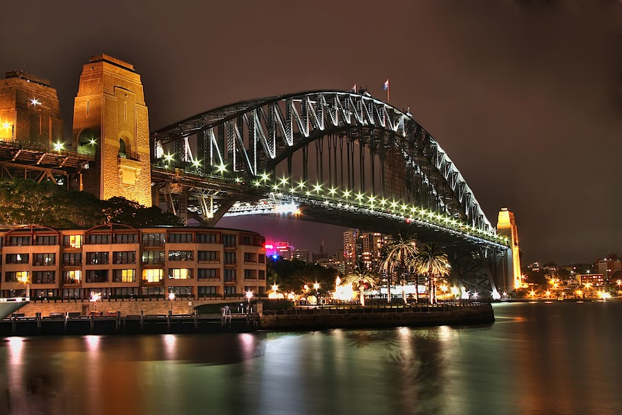 Visions of Sydney Harbour by Manny Zervos - Buildings & Architecture Bridges & Suspended Structures