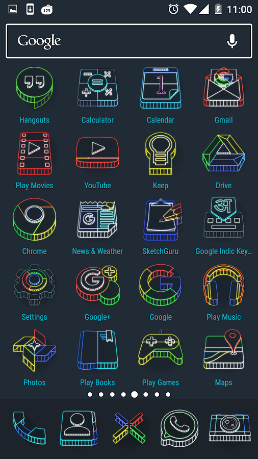 Wireframe 3D Icon Pack Screenshot 1