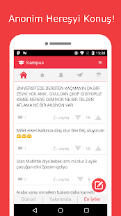 Kampus Anonim Konuş Screenshot