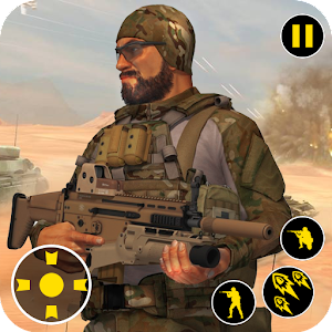 Commando Combat Shooting Adventure For PC (Windows & MAC)