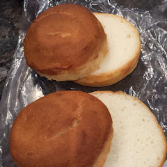 Amazing hamburger buns