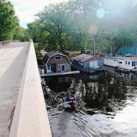 mississippi river by Jon Radtke - City,  Street & Park  Vistas ( mississippi river )
