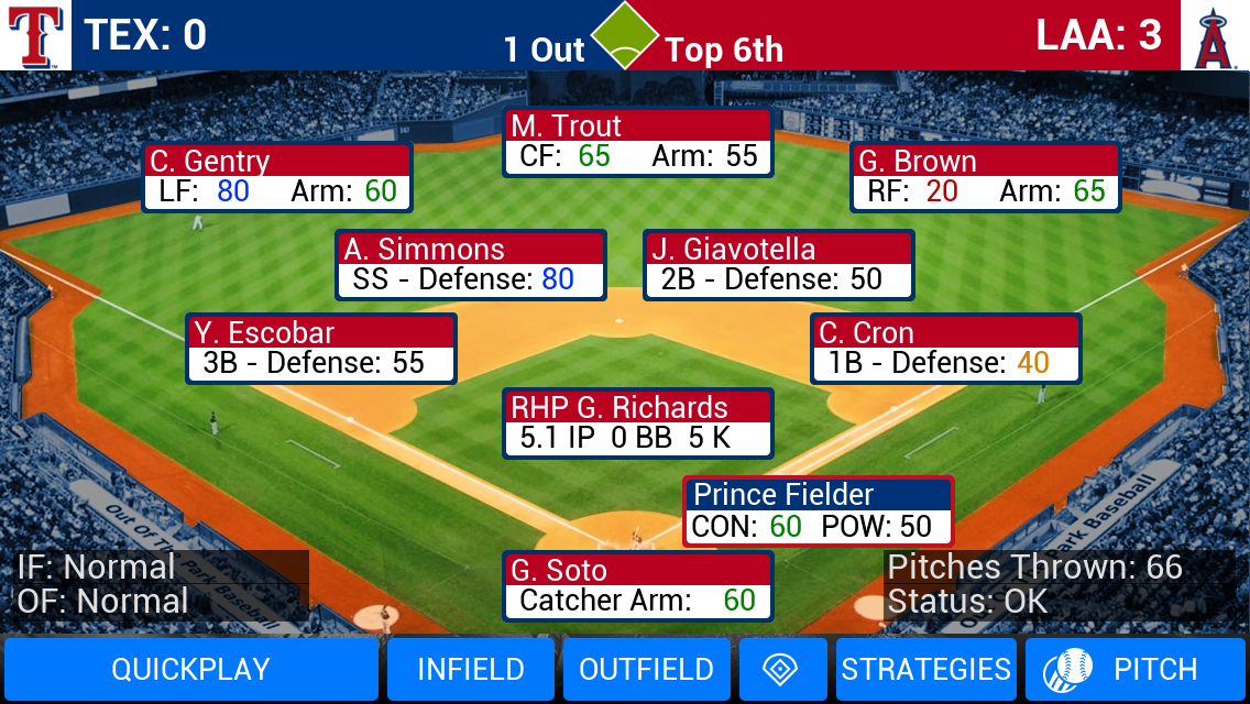 MLB Manager 2016 Screenshot 0