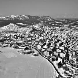 City of Postojna by Luka Mitrović - Landscapes Travel ( area, aria, city, landscape )