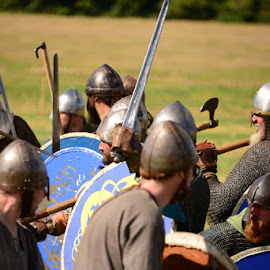 Carham 1018 by Si Goodwin - People Professional People ( vikings saxsons strathclyde welsh battle, re-enactment,  )