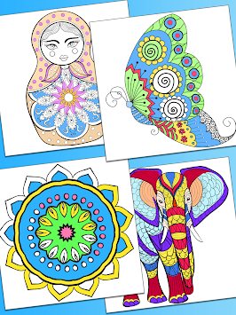Mandala Coloring Pages Apk Screenshot