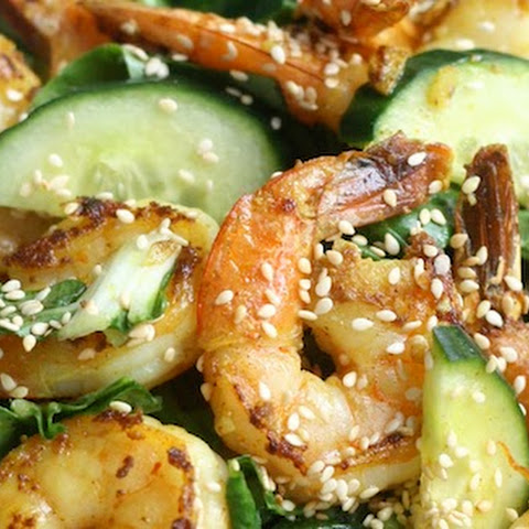 Shrimp & Bok Choy Salad with Vietnamese Dressing