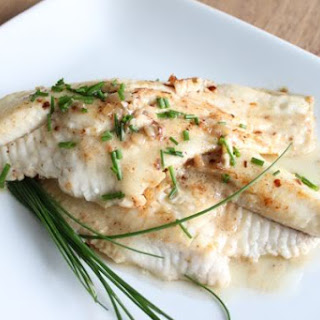 Buttery Catfish in a Creamy Shallot Sauce