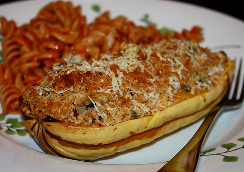 Angela's Stuffed Roasted Delicata Squash Recipe | Yummly