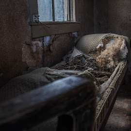 Sleeping forever by Andrew Jouffray - Buildings & Architecture Decaying & Abandoned