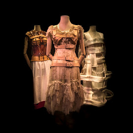 Casa Azul by Ole Steffensen - Artistic Objects Clothing & Accessories ( casa azul, mexico city, dress, corset, museum, frida kahlo )