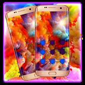 Download Colorful Cloud-Holi Theme APK