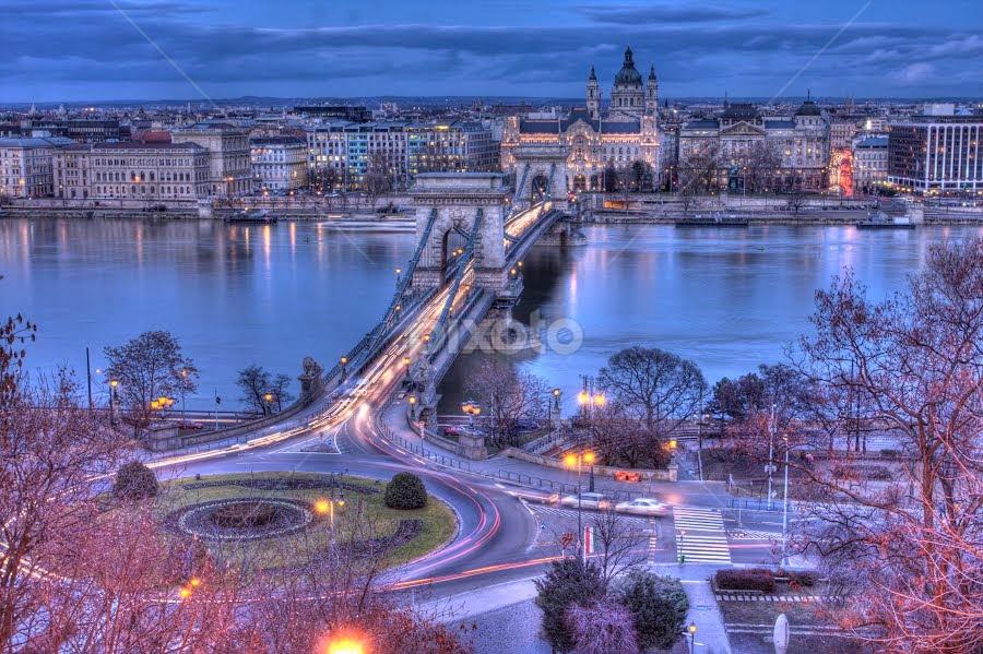 Budapest by Diána Barócsi - City,  Street & Park  Vistas ( city, budapest, travel, hungary )