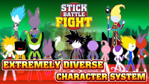 Stick Battle Fight [Mod] – Giải đấu siêu anh hùng