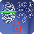 Screen Lock - with Fingerprint Simulator APK Descargar