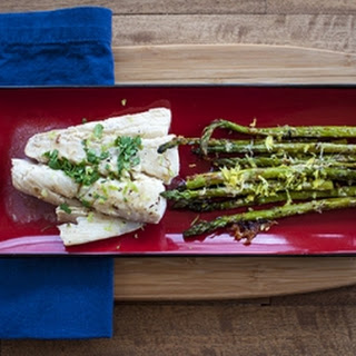 Roasted Asparagus with Chili Oil