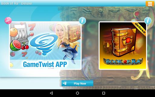 Book of Ra Deluxe Slot - screenshot