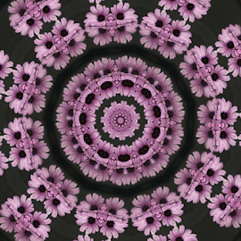 by Dipali S - Digital Art Abstract ( abstract, pattern, pink, floral, flower )