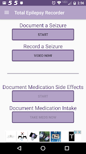 Total Epilepsy Recorder screenshot for Android