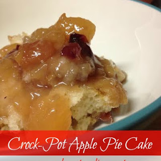 Crock-Pot Apple Pie Cake
