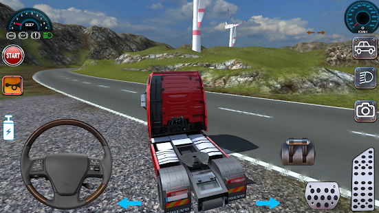 Game Real Truck Bus Simulation APK for Windows Phone