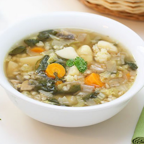 Pearl Barley & Vegetable Soup