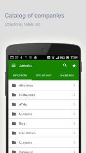 Jamaica Map offline - screenshot