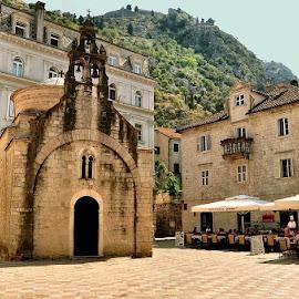 Kotor by Francis Xavier Camilleri - City,  Street & Park  Historic Districts