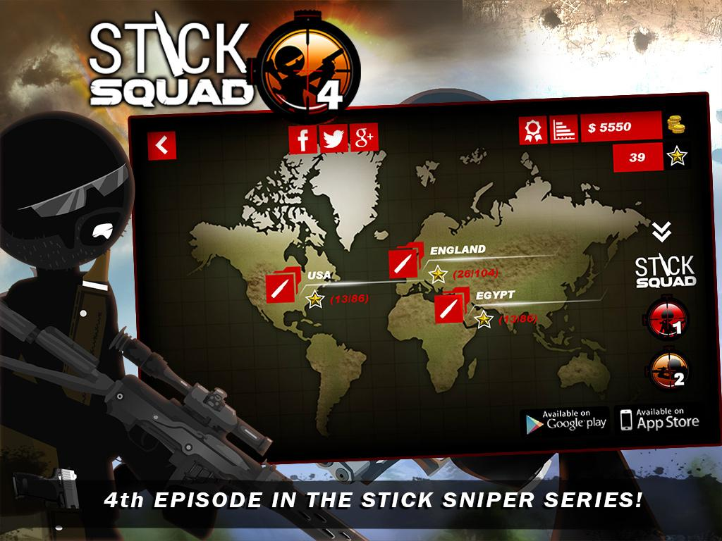 Stick Squad 4 - Sniper's Eye Screenshot 10