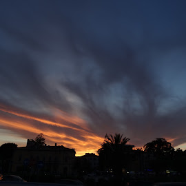 Tramonto by Juan Tomas Alvarez Minobis - Landscapes Sunsets & Sunrises ( clouds, sardinia, sunrise, sun )