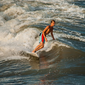 Riding the Wave by Prentiss Findlay - Sports & Fitness Surfing ( surfing, ocean surfing, waves, wave surfing, surfing waves )