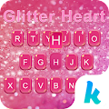 Glitter Heart Emoji Keyboard APK for Bluestacks