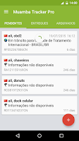 Screenshot of Muamba Tracker