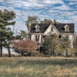 Dreams abandoned by Deborah Felmey - Buildings & Architecture Decaying & Abandoned ( homestead, abandonded, farm, decay, house,  )